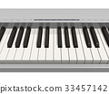 Synthesizer keyboard 33457142