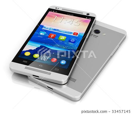 Modern touchscreen smartphone 33457145