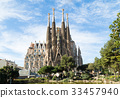 Sagrada Familia in Barcelona, Spain 33457940