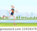 男性 男人 慢跑 33458379