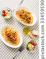 两人意大利面午餐 33459590