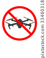 No aerial photography, empty camera, logo, drone, prohibit, sign, notice 33460318