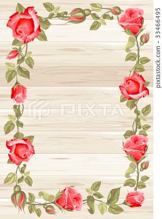 Floral frame 33466495