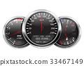 speedometer, tachometer, gauge 33467149