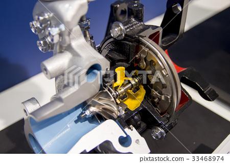 VG(可變幾何)渦輪增壓器  VG Turbo 33468974