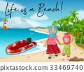 text beach sea 33469740