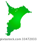 chiba prefecture map, chiba, chiba prefecture 33472033