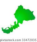 福井县地图 33472035