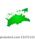 Kagawa Prefecture Map 33472143