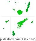 kagoshima prefecture map, kagoshima prefecture, kagoshima 33472145