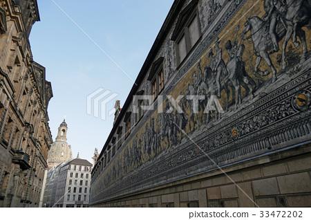 德累斯頓君主的進程和聖母教堂 33472202