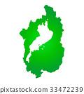 shiga prefecture map, map, shiga 33472239