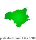 tokushima prefecture map, tokushima, tokushima prefecture 33472289