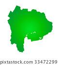 山梨縣地圖 33472299