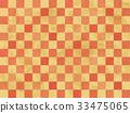 感覺總和的背景材料(日本模式·格子圖案) 33475065