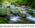 森林溪流 33475405