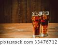 cola glass cold 33476712
