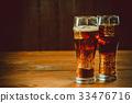 cola glass cold 33476716