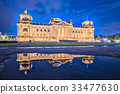 Night at the Reichstag building in Berlin, Germany 33477630