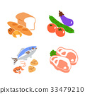 foodstuff, icon, icons 33479210