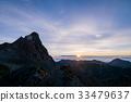 mount yari, summer, sunrise 33479637