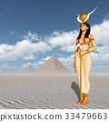 Pyramids and the goddess Hathor 33479663
