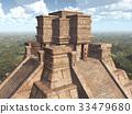 Mayan temple 33479680