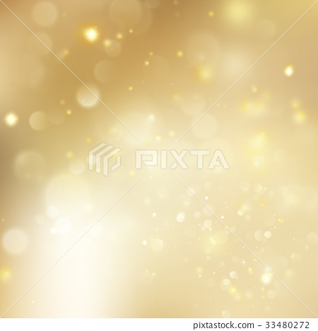 New year and Xmas Defocused Background With 33480272