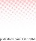 패턴, 도트, 배경 33486064