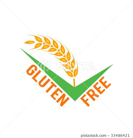Vector gluten free symbol 33486421