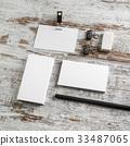 Photo of blank stationery 33487065