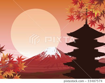 紅富士和五重塔 33487574