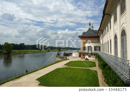 皮爾尼茨宮和易北河 33488175