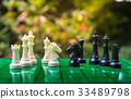 Chess business concept, leader & success 33489798