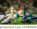 Chess business concept, leader & success 33489800