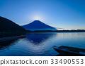 【靜岡縣】狸湖的鑽石富士 33490553
