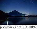 ภูเขาฟูจิ,ภูเขาไฟฟูจิ,ดาว 33490892
