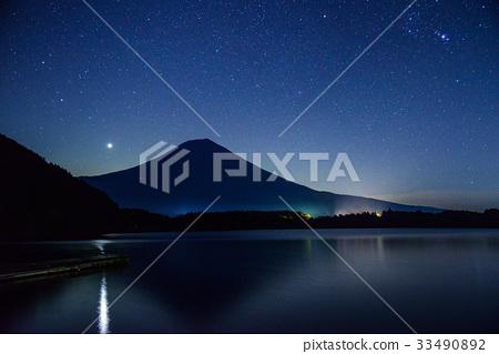 【靜岡縣】Starry Lake Tanuki和富士山 33490892