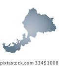 福井县地图 33491008