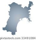 miyagi prefecture map, miyagi prefecture, map 33491084