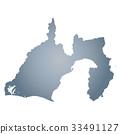 shizuoka prefecture map, shizuoka, shizuoka prefecture 33491127