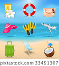Set Realistic Travel and Tourism Accessories 33491307