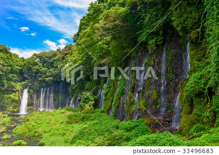 Prefecture จังหวัดชิสึโอกะ】น้ำตกชิระอิโตะในฤดูร้อน 33496683