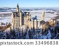 Neuschwanstein castle view from Maria bridge 33496838
