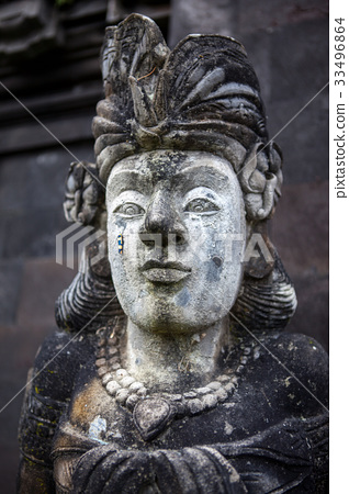 Stone sculpture on entrance door of the Temple in 33496864