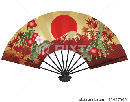 折扇(Akafuji) 33497346
