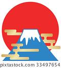 fuji, mountain, mt 33497654