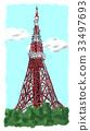 도쿄 타워 33497693