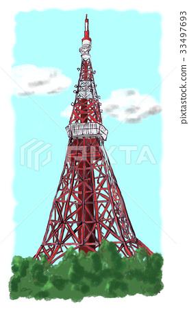 東京鐵塔 33497693