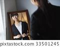 여성, 여자, 몸치장 33501245